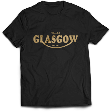Club T-Shirt (Black & Gold)